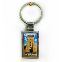 """Брелок для ключей металлический сувенирный """"Луцк"""""""