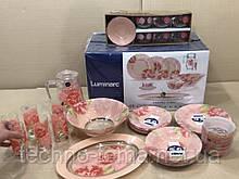 Столовый сервиз 46 предметов Pastel Pink Luminarc N6254