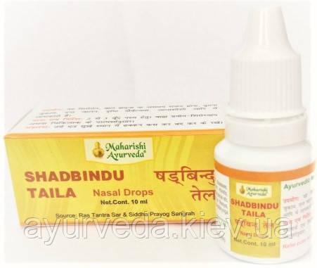 Шатбинду, Шадбинду - масло для носа, грипп, насморк, простуда, отечность лица... Shatbindu, Shadbindu (10ml)