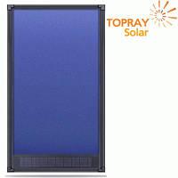 Солнечный воздушный коллектор для отопления и вентиляции Topray Solar К7 до 75 кв. м.
