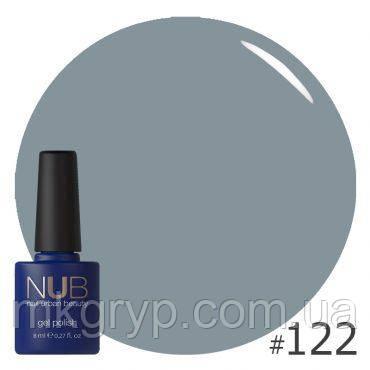 ГЕЛЬ-ЛАК NUB DESTINESIA 122 (серо-голубой, текстура крем)), 8 мл