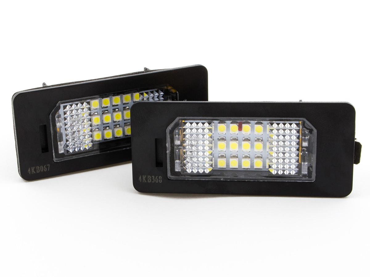 1 пара (2 шт.)Подсветка номерного знака BMW E39 E60 E70 E90 E92