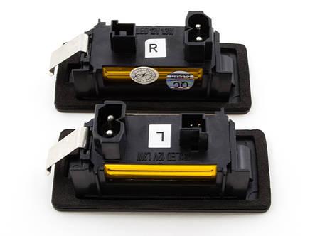 1 пара (2 шт.)Подсветка номерного знака BMW E39 E60 E70 E90 E92, фото 2