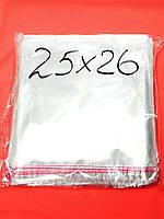 Пакеты упаковочные с липкой лентой 250*260 40мкм, (100шт)