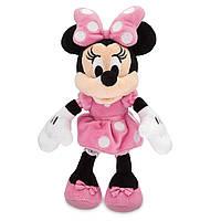 """Мягкая игрушка Дисней/Disney Минни Маус розового цвета мини 23,5 см. """"Микки Маус и его друзья"""""""