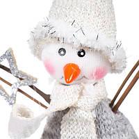 """Елочная-мягкая игрушка """"Снеговик"""""""