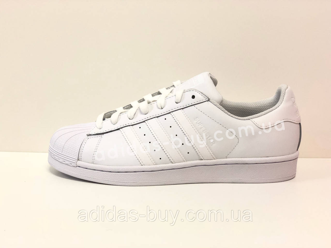 4651d23d9 Мужские оригинал кожаные кроссовки Adidas Superstar Foundation B27136  цвет:белый сезон:Весна повседневные -