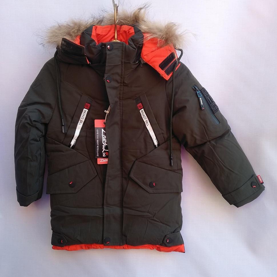 Детская куртка 110-134 Masked Зима 775142