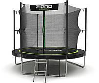 Батут уличный для детей и взрослых Zipro Fitness (Польша) 252 см с внутренней сеткой