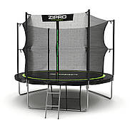 Батут для взрослых и детей Zipro Fitness 312 см с внутренней сеткой