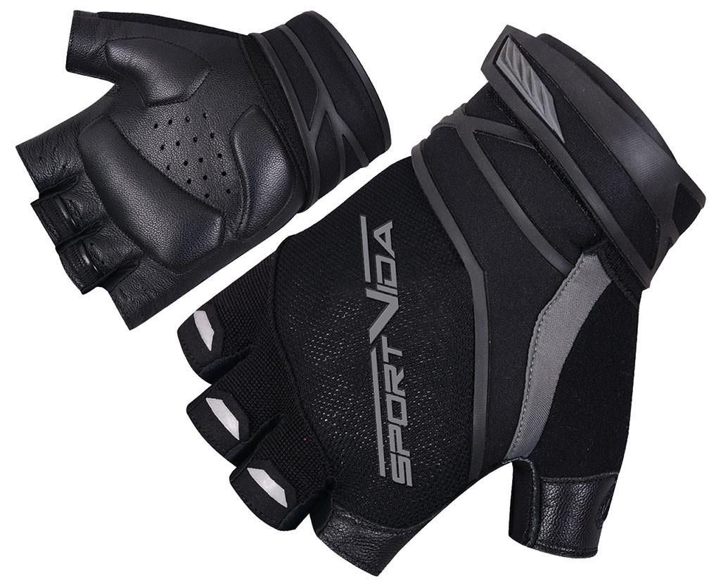 Перчатки для фитнеса SportVida SV-AG0001 (M) Black