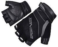 Перчатки для фитнеса SportVida SV-AG0001 (M) Black, фото 1