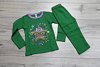 Пижама для девочек ( интерлок). 1- 4 года