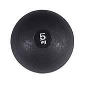 Слэмбол (медицинский мяч) для кроссфита SportVida Medicine Ball 5 кг Black