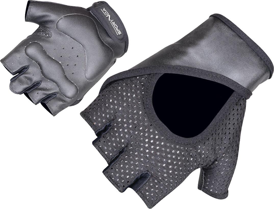 Перчатки для фитнеса SportVida SV-AG00012 (M) Black