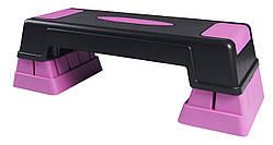 Степ-платформа регулируемая 3-ступенчатая SportVida для степа, степ-аэробики, фитнеса, тренировок