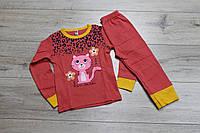 Пижама для девочек ( интерлок). 1 год