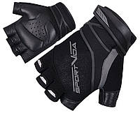 Перчатки для фитнеса SportVida SV-AG0002 (L) Black, фото 1