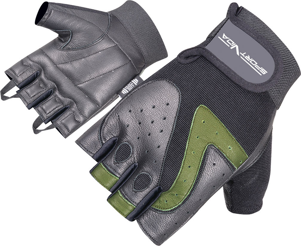 Перчатки для фитнеса SportVida SV-AG00017 (M) Black