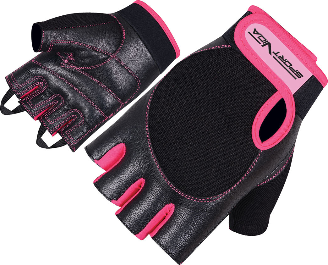 Перчатки для фитнеса SportVida SV-AG00030 (M) Black
