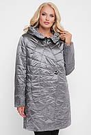 Куртка демисезонная женская Паутинка металлик, фото 1