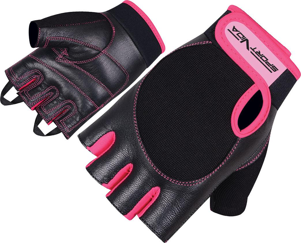 Перчатки для фитнеса SportVida SV-AG00029 (S) Black
