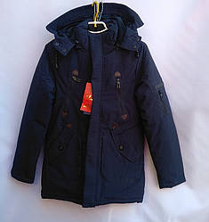 Подростковое пальто-парка 140-164 Зима 750952