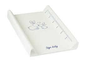 Пеленальная дошка Tega Little Bunnies KR-009 103 white
