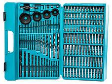 Набор инструментов MAKITA 216 елементов,биты,кейс, фото 2