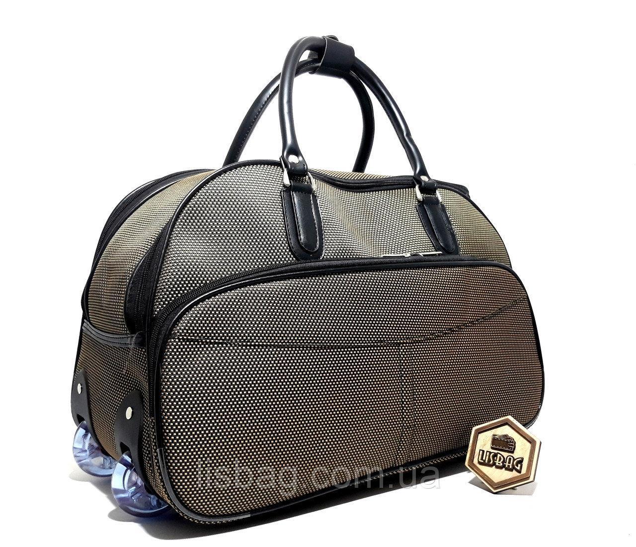 2d3a0ba1c398 Средняя дорожная сумка коричневая X (55л) (54*27*35) чемодан ...
