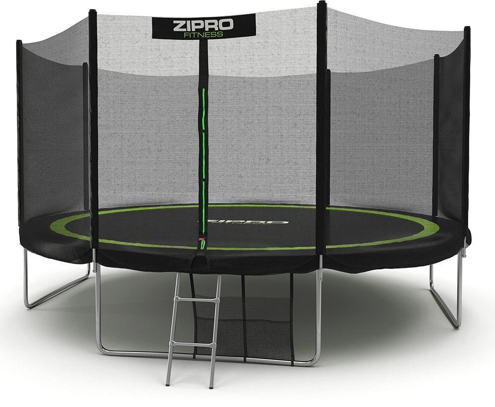 Батут с внешней сеткой для детей и взрослых Zipro Fitness 374 см