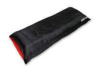 Спальный туристический мешок SportVida, темп. режим до - 4°C, цвет - черный, фото 1