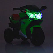 Мотоцикл детский M 3912EL-4, синий Гарантия качества Быстрая доставка, фото 5