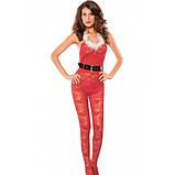 Огненный Красный Рождественский костюм, фото 2