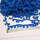 Тасьма з помпонами синього кольору (10 мм), фото 3