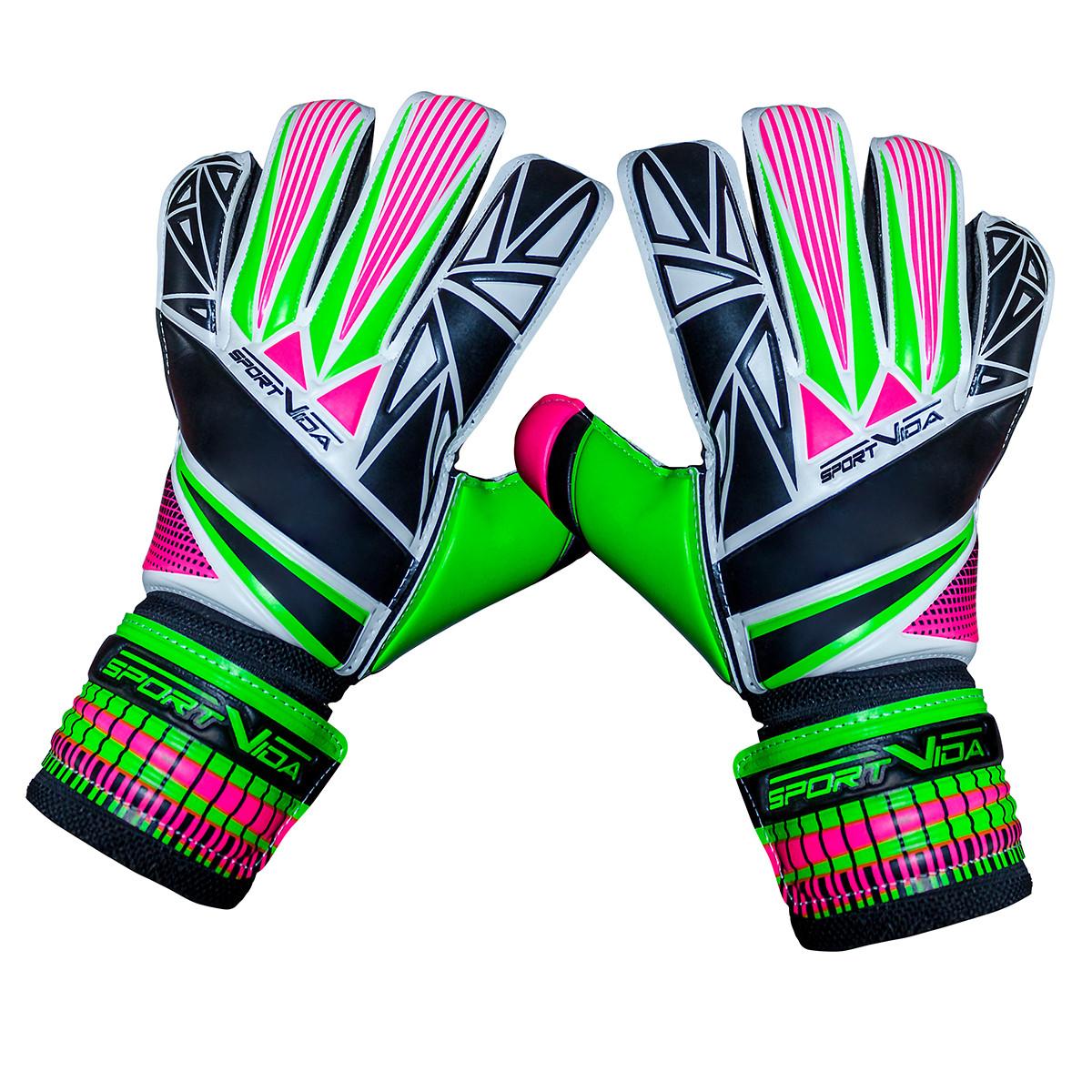 Вратарские перчатки футбольные SportVida Size 7
