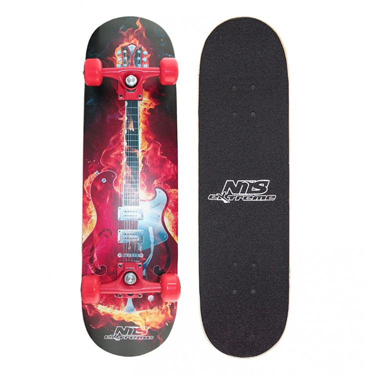 Скейтборд Nils Extreme CR3108SB Fire Music