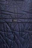Пальто женское демисезонное Кира синее, фото 4