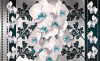 Фотообои флизелиновые на стену 312x219 см  : Розовые элегантные орхидеи CN1288