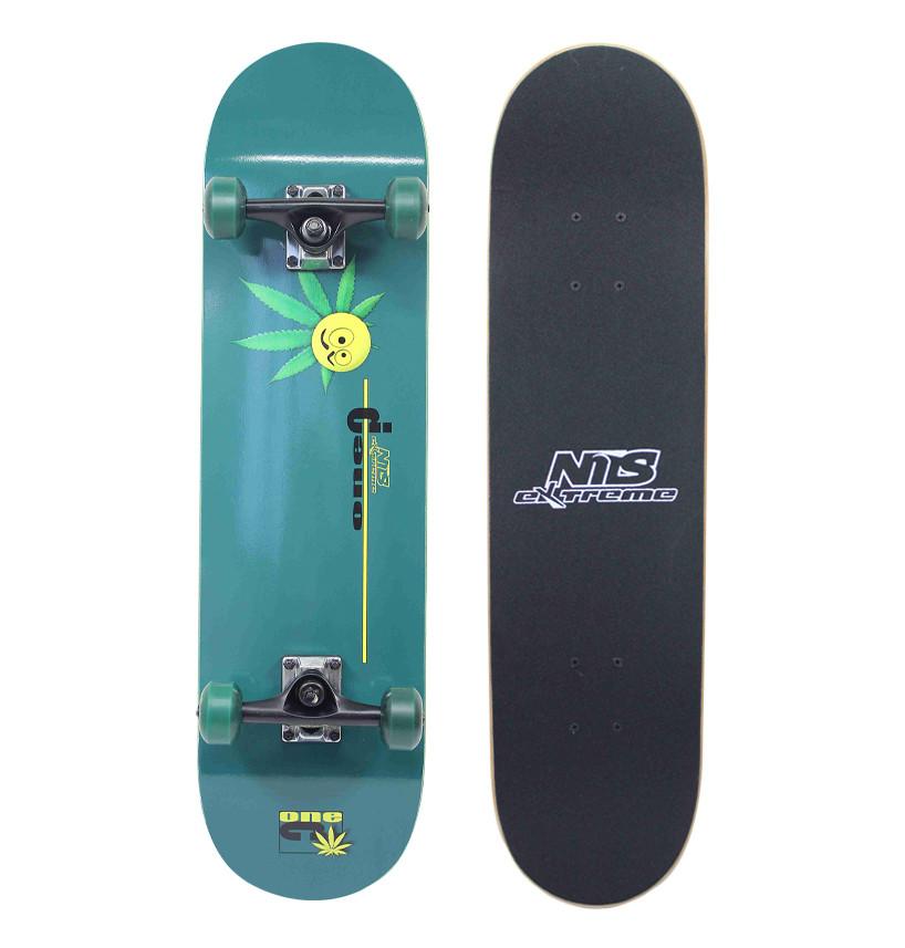 Скейтборд Nils Extreme GF3108A Green