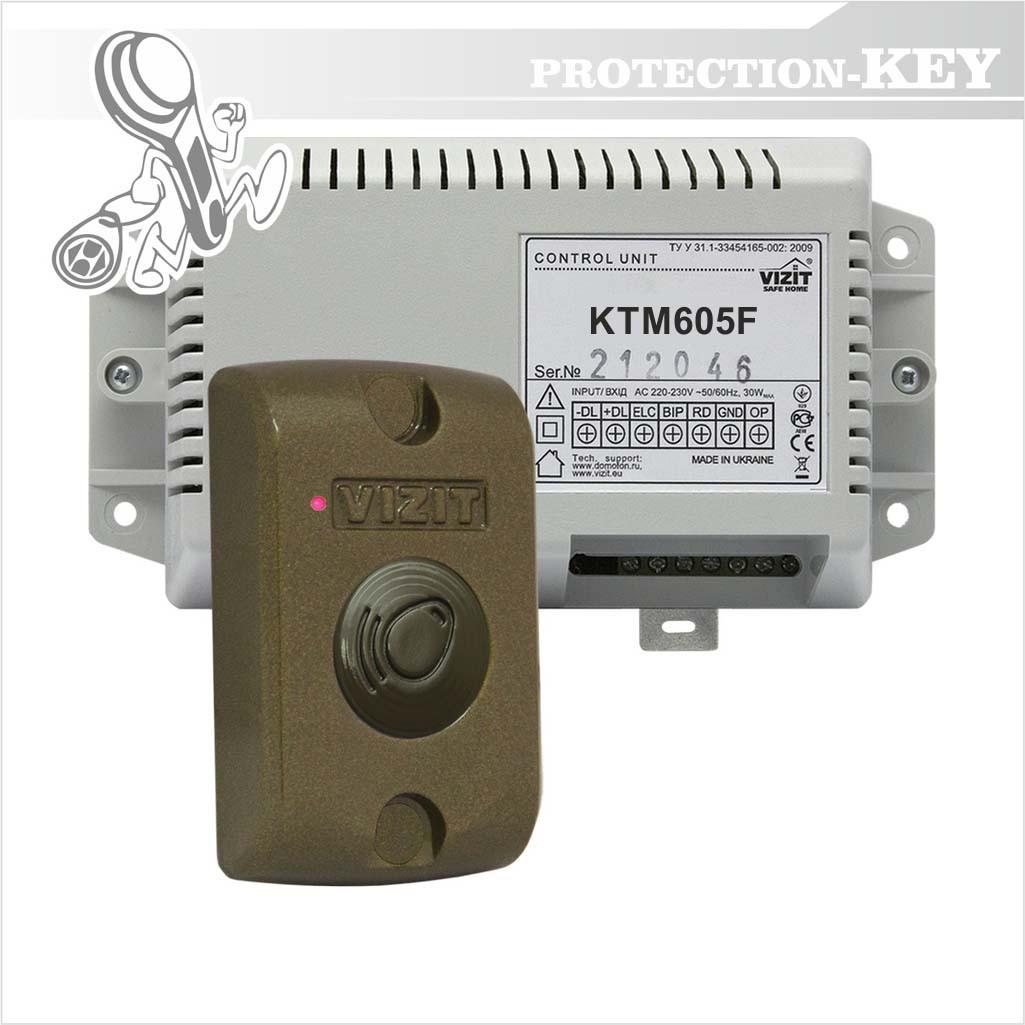 Контроллер Vizit KTM605F