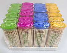 Зубочистки карманные бамбуковые 24шт/уп
