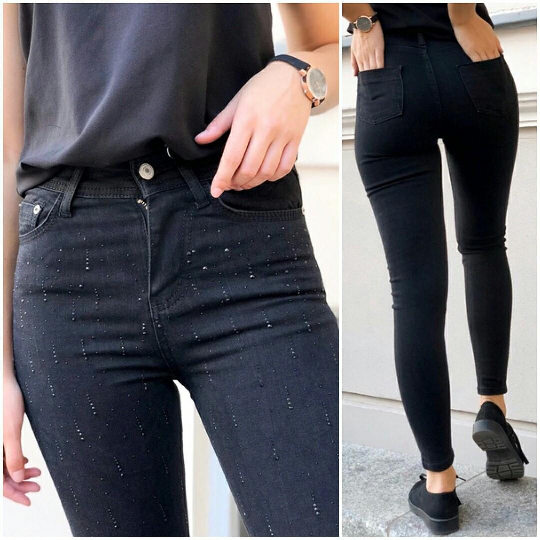Женские плотные стрейчевые джинсы Турция (42,44,46,48)