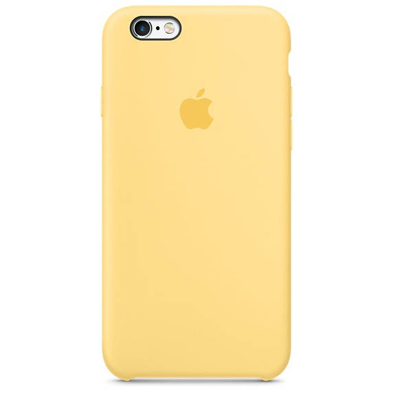 "Накладка iPhone 6 ""Original Case"" New Yellow"