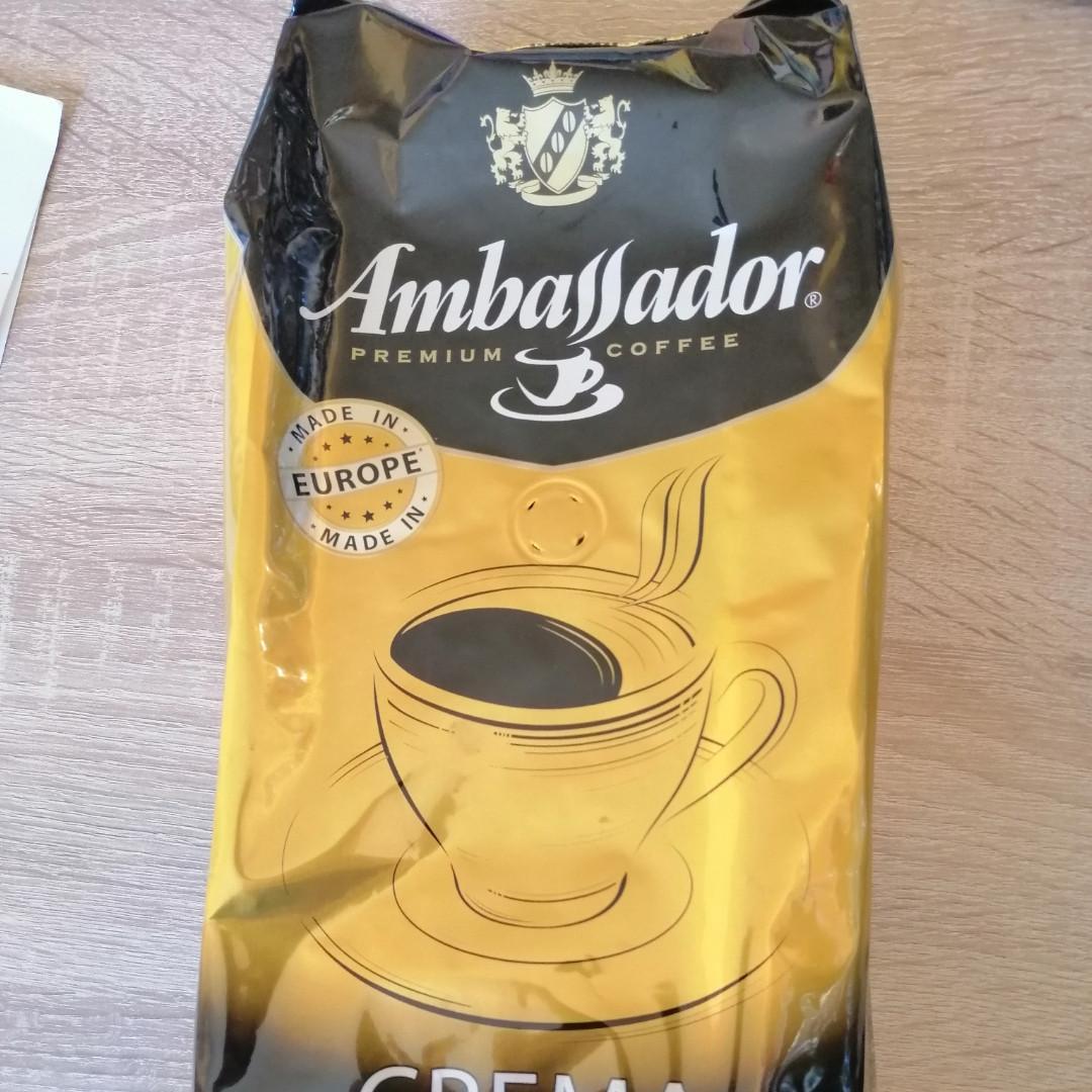 Кофе в зернах Ambassador Crema Европа 1 кг