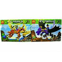 Конструктор Lele 33160 Minecraft Майнкрафт Битва драконов Два вида, фото 1