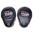 Лапы для бокса FIREPOWER CG 3 Черные с белым, фото 3