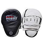 Лапы для бокса FIREPOWER CG 3 Черные с белым, фото 2