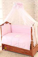 Постельное белье в кроватку Greta Lux - Амур 7 эл.