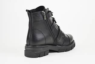 Ботинки кожаные с тремя ремешками DaCoTa 30205, фото 2